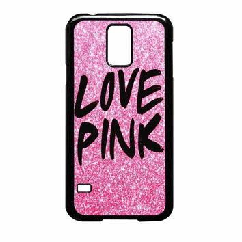 Pink Cute Love Samsung Galaxy S5 Case