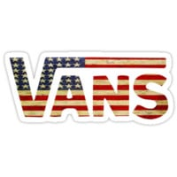 Vans Shoes USA Flag