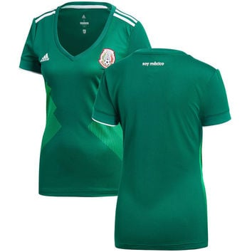 Mexico National Team Women's 2018/2019 Home Jersey – Green
