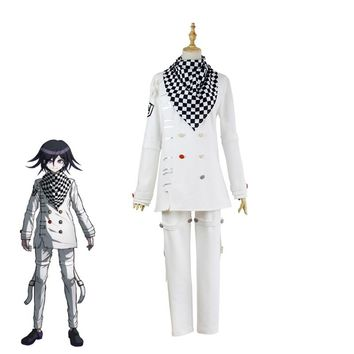 Japanese Game Danganronpa V3 Ouma Kokichi Cosplay Costume Unisex School Uniforms Halloween Carinval Outfits Custom Made