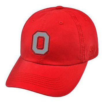 Licensed Ohio State Buckeyes Official NCAA Adjustable Crew Hat Cap by Top of the World KO_19_1