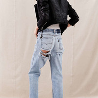Urban Renewal Remade Shredded Jean - Urban Outfitters