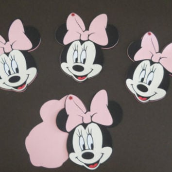 Cute Minnie Mouse Invitations made with my Cricut by Tinks25
