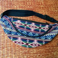 Festival Tribal Fanny pack boho Styles cycling bag Hippie Hipster phanny waist Bum bag Ethnic Ikat Bohemian Stripe unisex Multicolor Floral