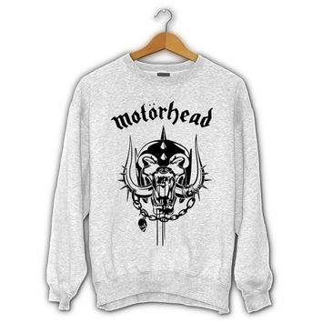 Motorhead Logo Sweater I Official Merchandise For Mens and Womens