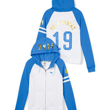 UCLA Full-Zip Hoodie - PINK - Victoria's Secret