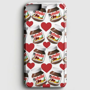 Nutella Pattern iPhone 8 Plus Case | casescraft