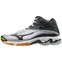 Mizuno Wave Lightning Z2 Mid Men's Volleyball Shoes - White Black