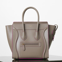 Mini Luggage Handbag in Palmelato Calfskin