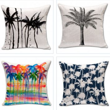 Abstract Coconut Pillow Cases