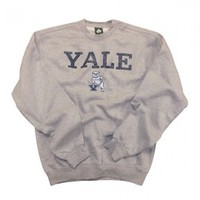 Yale - Team Vintage - Sweatshirt (Heather Grey) - Sweatshirts - Yale