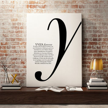 Fashion Magazine Print , Typography, Fashion art, wall art, illustration, wall decor