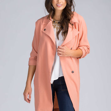 Changing Seasons Trench Coat