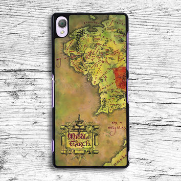 the middle earth Sony Xperia Case, iPhone 4s 5s 5c 6s Plus Cases, iPod Touch 4 5 6 case, samsung case, HTC case, LG case, Nexus case, iPad cases