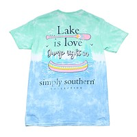 Preppy Lake Tee by Simply Southern