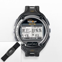 Timex Ironman Global Trainer Digital Chronograph GPS Watch & Flex-Tech Digital 2.4 Heart Rate Monitor Set - T5K444F5
