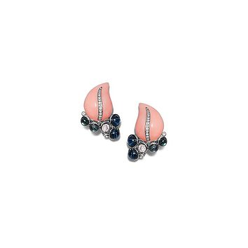 Tory Burch Kenneth Jay Lane For Tory Burch Leaf Earring