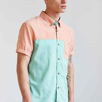 Vans Hayes Button-Down Shirt- Olive