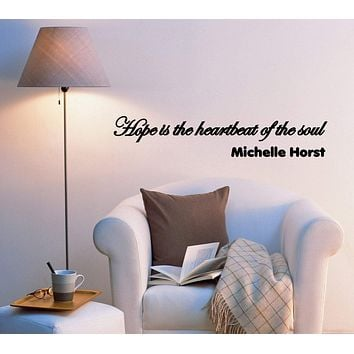 Wall Decal Sign Quotes Inspiring Words Mirror Vinyl Sticker (ed848) (22.5 in X 4.5 in)