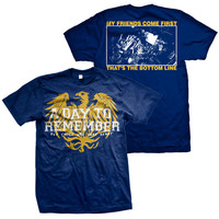 A Day To Remember: Friends (Navy Blue) T-Shirt