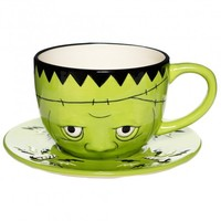 Sourpuss His & Hers Swallow Mug Set | Retro Kitsch Style Homewares