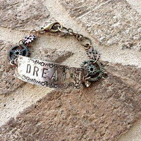 Steampunk Dream Bracelet by Crafting4Cause on Etsy