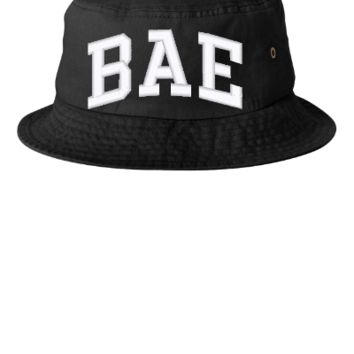 bae embroidery bucket hat - Bucket Hat