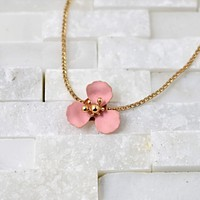 Flower Adjustable Necklace