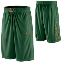 Nike Miami Hurricanes Replica Basketball Short - Green