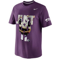 Nike TCU Horned Frogs DNA T-Shirt - Purple