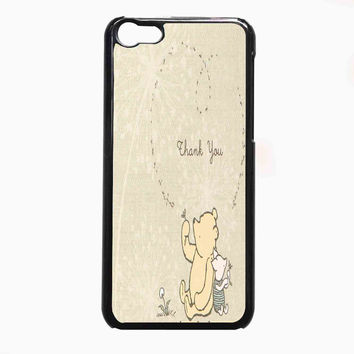 classic winnie the pooh and piglet FOR IPHONE 5C **