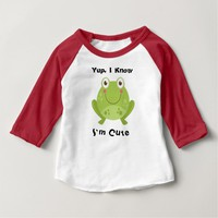 Cute Frog Baby T-Shirt