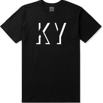 Kings Of NY Kentucky KY City State Black T-Shirt
