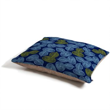 Heather Dutton Leaflet Marine Pet Bed