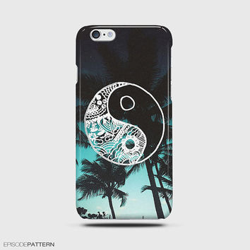 iPhone 6 Case Hipster Tropical Yin Yang