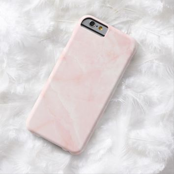 Claire Blossom Pink marble with luxury feelin Barely There iPhone 6 Case