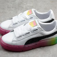 PUMA RAINBOW COLORFUL WOMEN SEANKER