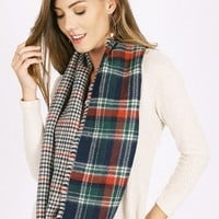 Hyde Infinity Scarf In Navy