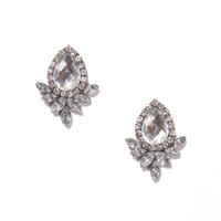 Crystal Bloom Drops | Jeweliq Fashion Earrings