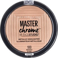 Maybelline Facestudio Master Chrome Metallic Highlighter, Molten Gold - Walmart.com