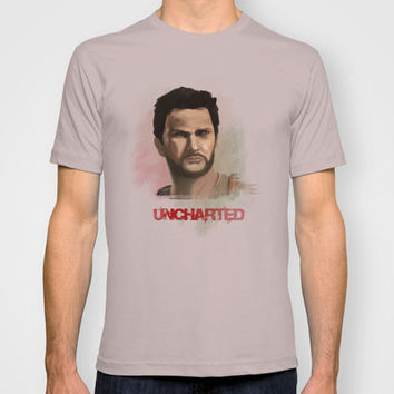 Uncharted - Drake T-shirt by TwO Owls