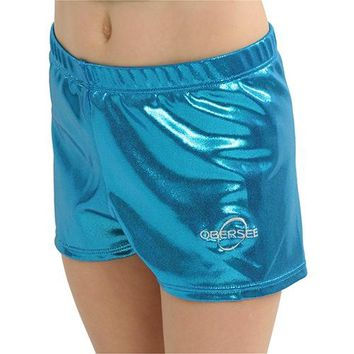 Obersee Gymnastics Shorts - Turquoise