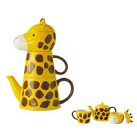 Japanese Gift Market - Sun Art - Giraffe Tea For Two