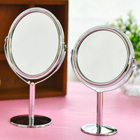 Women Beauty Make up Cosmetic Double Side Normal + Magnifying Stand Mirror