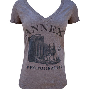 Photography Womens VNeck Tee