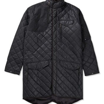 Black Hunting Fishtail Parka