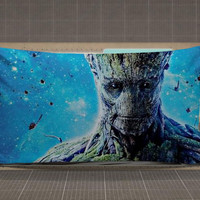 GROOT Guardian Of The Galaxy rectangle pillow case, pillow cover, cute and awesome rectangle pillow covers