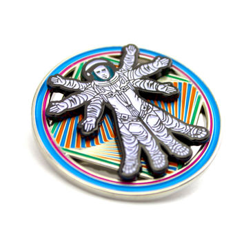 The Bassnectar Inspired 'Take Me Down' Spinner Pin