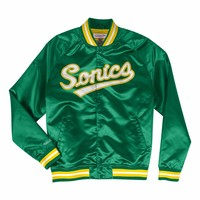 Mitchell & Ness Seattle Supersonics Lightweight Satin Jacket