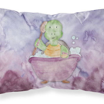 Turtle Bathing Watercolor Fabric Standard Pillowcase BB7344PILLOWCASE